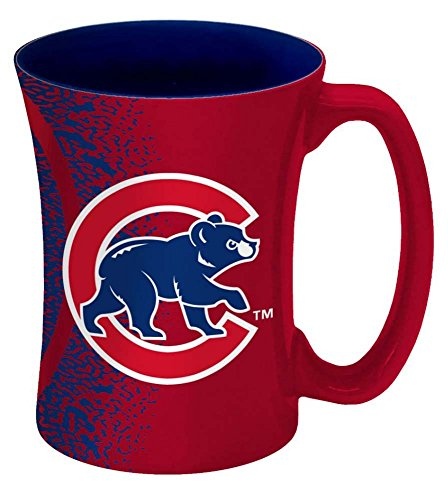 MLB Chicago Cubs Mocha Mug, 14-ounce