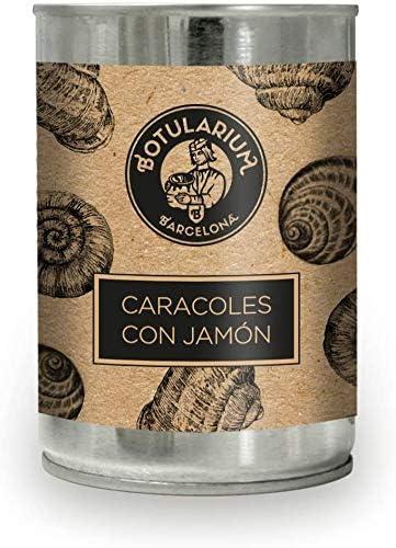 Caracoles en salsa de jamón Botularium (390g)