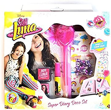 Soy Luna- Set Diario para Decorar con Caja (Mercury 34235): Amazon.es: Juguetes y juegos