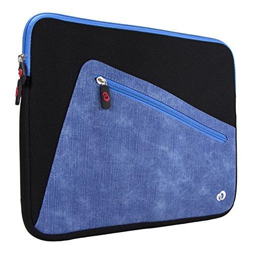 "Slim Neoprene Laptop Sleeve & Tablet Bag, Water Resistant Cover Case for Apple MacBook Pro & MacBook Air 13"", Microsoft Surface Book 2 13"