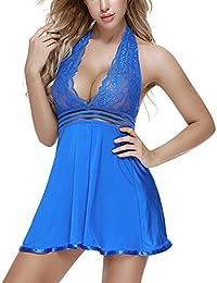 29e242e8e0 Sexy Lace Babydoll Lingerie for Women Plus Size Lingerie Set