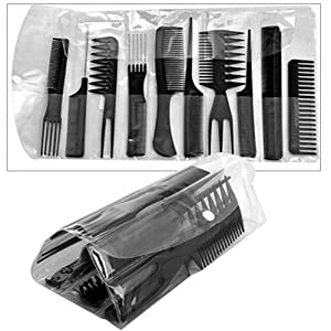 Set 10 Professional Hair Styling Hairdressing Comb New