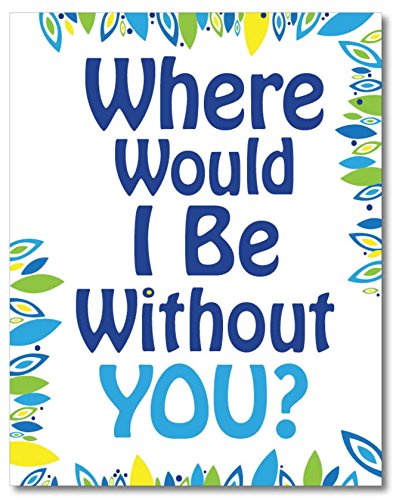 Funny Friendship Card. Where Would I Be? Single, 5.5x4.25 Blank Greeting Card with Envelope. Unique Christmas Gift Idea for Him or Her. Joke, All Occasion, Valentine's Day, Just Because for Friends