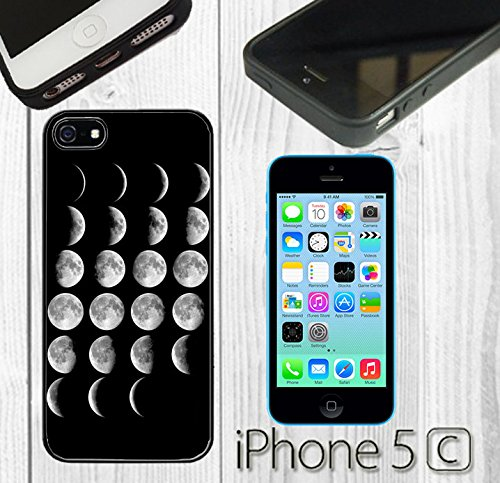 purchase cheap 3cd15 01968 Amazon.com: Moon Phases Custom made Case/Cover/skin FOR iPhone 5C ...
