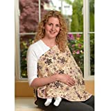 ORGANIC NursEase Breastfeeding Shawl- Organic Large Fab Floral