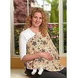 ORGANIC NursEase Breastfeeding Shawl- Organic Small Fab Floral
