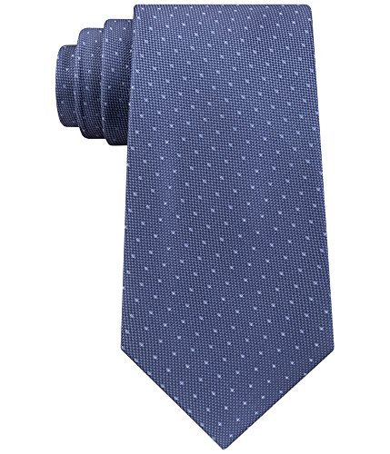 Calvin Klein Mens Pebble Necktie Blue One Size by Calvin Klein