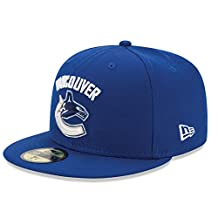 Vancouver Canucks 59FIFTY Basic Logo Fitted Cap (Royal)