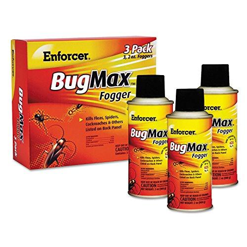 ZEP Enforcer 1046664 Bugmax Fogger, 2 Oz, For Ants/cockro...