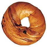 Burry Foodservice Thaw and Sell Sliced Cinnamon Raisin Bagel, 4 Ounce - 72 per case.