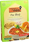 Kitchens Of India Ready to Eat Pav Bhaji, Mashed Vegetable Curry, 10-Ounces (Pack of 6)