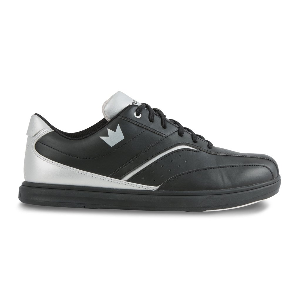 Brunswick Vapor Mens Bowling Shoe Black/Silver ace mitchell