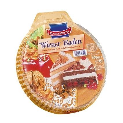 Kuchenmeister Wiener Boden Hell 3 Geteilt 6er Pack 6 X 400 G