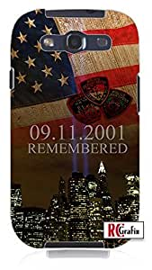 Remembering 911 September 11 2001 attack on New York City Memorial Unique Quality Soft Rubber TPU Case for Samsung Galaxy S4 I9500 - White Case wangjiang maoyi