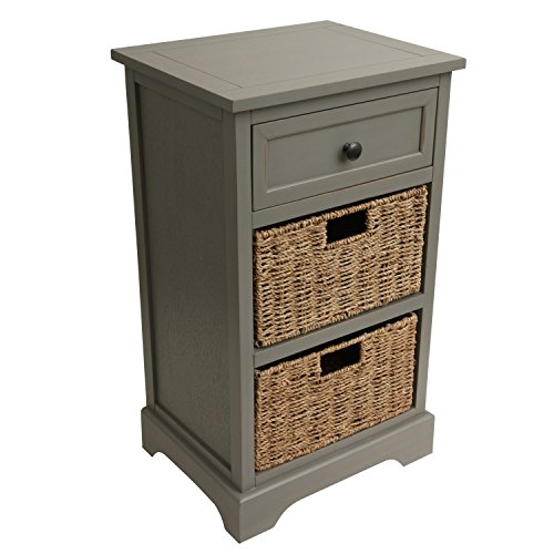 D cor Therapy FR1804 End Table, Antique Gray