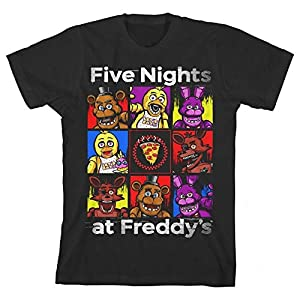 Five Nights At Freddy/'s Panels Boy/'s T-Shirt