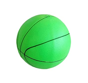 Bola inflable del niño Juguetes baloncesto elástico de la bola   Fútbol-Verde   Amazon.es  Juguetes y juegos 59f507135c603