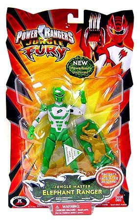 Power Rangers Jungle Fury Action Figure Jungle Master Elephant -