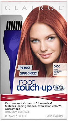 Clairol Nice 'n Easy Root Touch-Up Permanent Hair Color 6RR Intense Red 1 Kit