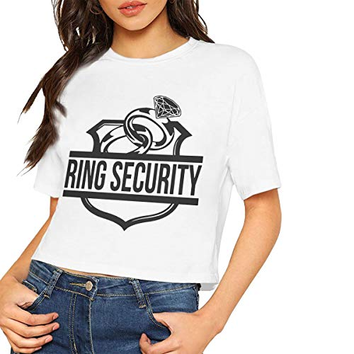 (Onge George St Womens Ring Security Personalized T-Shirt White M Lumbar Tank Top)