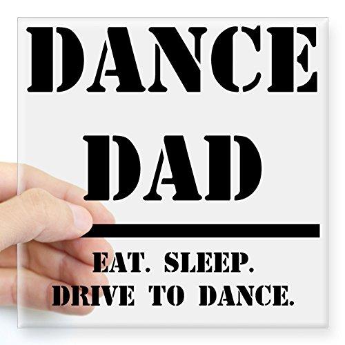 CafePress Dance Dad.GIF Square Sticker 3