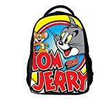 YOURNELO Cartoon Color Printed Tom and Jerry Rucksack Backpack Bookbag (3)