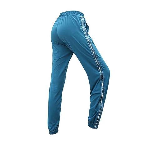 BFCK Pantalones Deportivos de Mujer Pantalones de Yoga ...