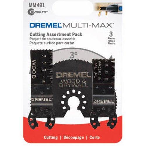 Dremel MM491 Multi-Max MM450/MM440/MM422 Flush Cut Blade Pack