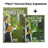 2 Item Bundle: Power Grid Base Game with France