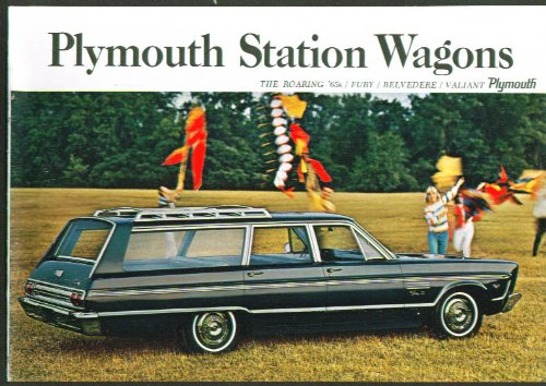 (1965 Plymouth Fury Belvedere Valiant Station Wagon brochure)