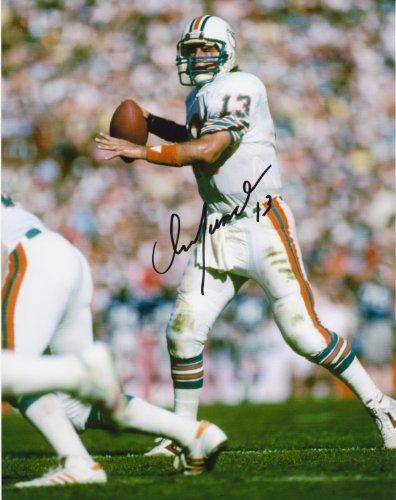 Dan Marino Autograph 8 X 10 Photo Display on Glossy Photo Paper
