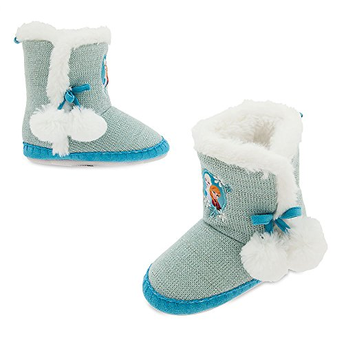 Disney Frozen Slippers for Girls Size 13/1 Youth
