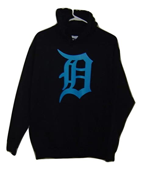 amazon com detroit white logo old english d pullover hoodie very