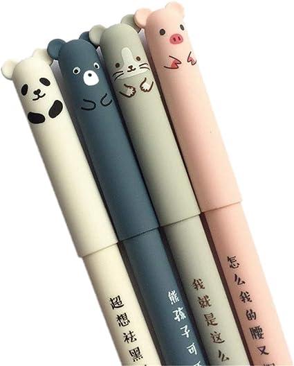 Cartoon Bear 8 in 1 Multi-color Ballpoint Pen Kids Birth Xmas Party Favor Gift