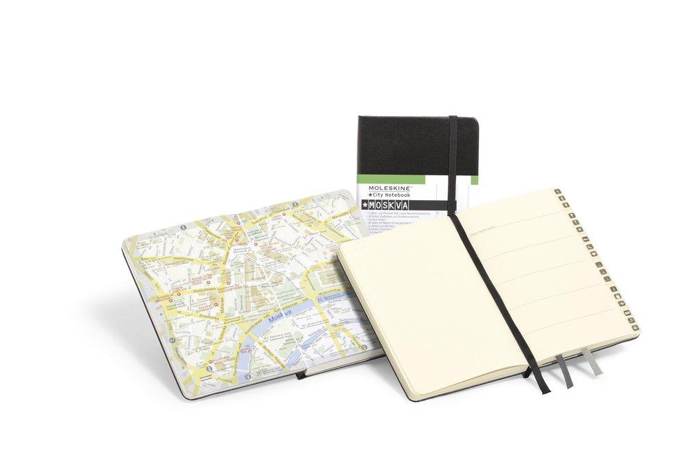 Moleskine City Notebook - Moscow, Pocket, Black, Hard Cover (3.5 x 5.5) by Moleskine (Image #3)