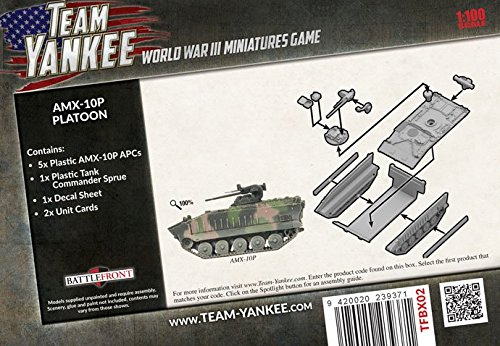 Team Yankee: French: AMX-10P Platoon