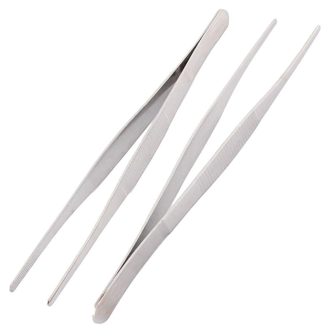 Aexit /à bout rond acier inox Pince outil /à main long 18cm 3pcs 606X892