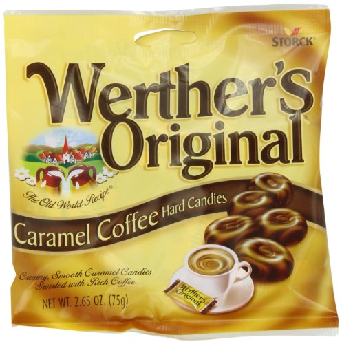 (Werther's Original Caramel, Coffee, 2.65-Ounce (Pack of)