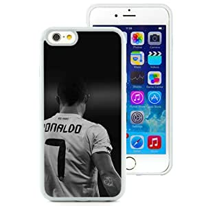 Hot Sale And Popular iPhone 6 4.7 Inch TPU Case Designed With Papers Co Hc Cristiano RonaldoReal Madrid Soccer DarkIphone Wallpaper White iPhone 6 Phone Case