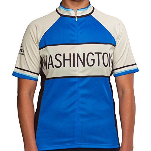 Washington Classic Racer Cycling Jersey - Women's Blue