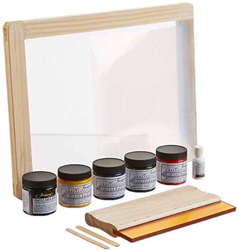 Jacquard Screen Printing Kit, Semi Transparent]()