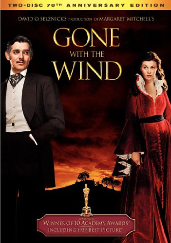 Gone with The Wind (DVD / Two-Disc 70th Anniversary Special Edition / FS) Clark Gable, Vivien Leigh, Thomas Mitchell, Barbara O'Neil, Evelyn Keyes