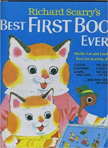 Learning Counting com Huckle Best Fun Richard About Book Shapes Scarry First Books Have Worm And colors Lowly Cat Amazon Ever Sizes