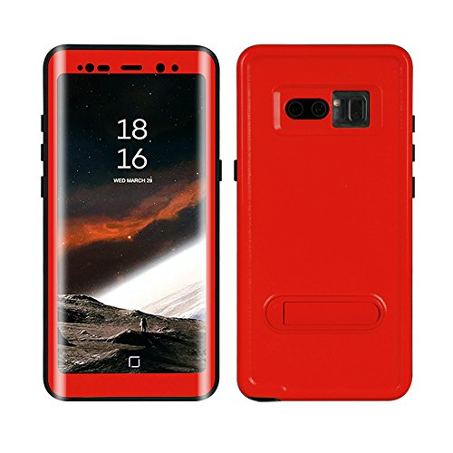 Galaxy Note 8 Waterproof Case, Dooge Shockproof Dirtproof Snowproof Rain Proof, Heavy Duty Full Protection Case Cover with Kickstand Rugged IP68 Certified Waterproof Case for Samsung Galaxy Note 8