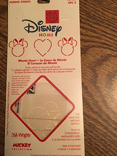 Disney Home Minnie Heart Sliding Stencil by Disney