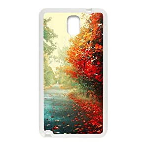 Autumn Path personalized creative custom protective phone case for Samsung Galaxy Note3