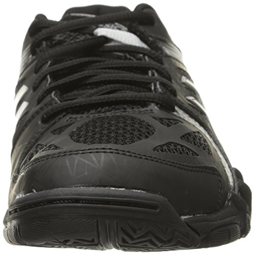 Women's Black Court Gel Shoe Control Volleyball Silver ASICS q87a1dxwq