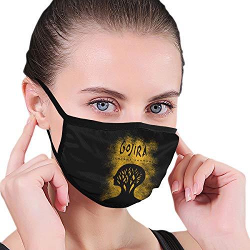 Mniunision Gojira L'enfant Sauvage Masks, Unisex Polyester Masks, Dust Masks, Cute Cartoon Masks