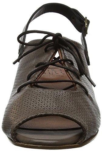 LiliMill Women's Delmar Sling Back Sandals Green (Kaki Kak) f209F