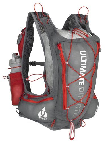 Ultimate Direction PB Adventure Vest, Grey, Small/Medium, Outdoor Stuffs